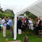 Guests at annual garden party 2015